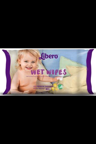 Libero travel pack puhdistuspyyhe 20 kpl