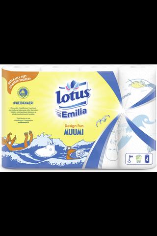 Lotus Emilia Design Fun Talouspaperi 4 rll