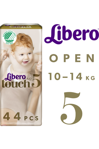Libero Touch teippivaippa koko 5 10-14kg 44kpl