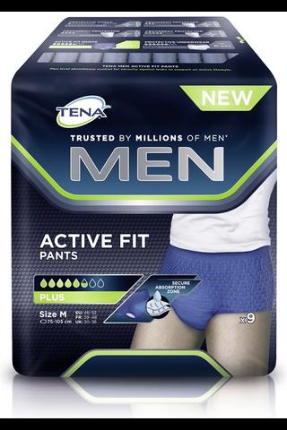 Tena Men Active Fit Pants Medium 9 kpl
