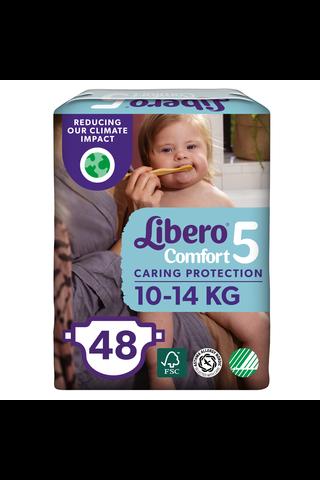 Libero Comfort teippivaippa koko 5, 10-14 kg, 48 kpl