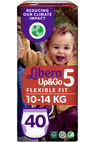 'Libero Up&Go housuvaippa koko 5, 10-14 kg, 40 kpl