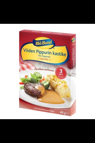 Blå Band Bistro laktoositon Viiden Pippurin kastike 3x16g