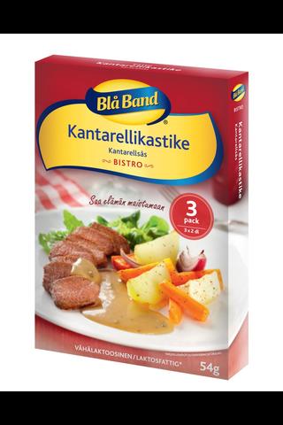 Blå Band Bistro vähälaktoosinen Kantarellikastike 3x18g