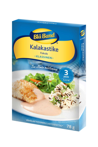 Blå Band vähälaktoosinen Kalakastike 3x26g