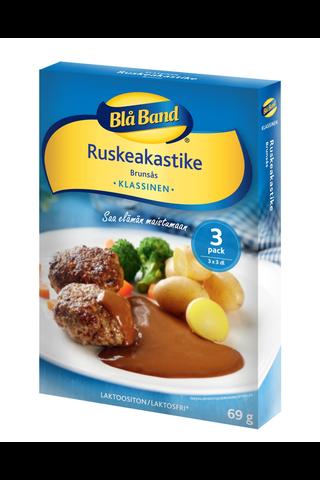 Blå Band laktoositon Ruskeakastike 3x23g