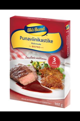 Blå Band Bistro vähälaktoosinen Punaviinikastike 3x34g