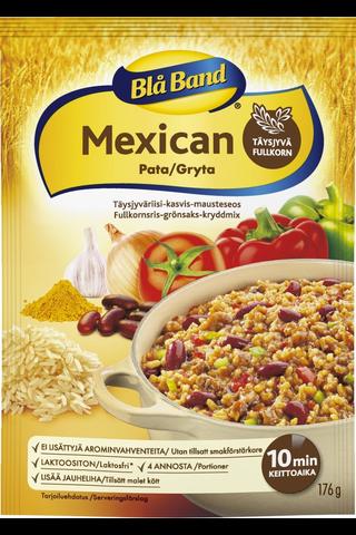 Blå Band laktoositon täysjyvä Mexican pata Täysjyvä kasvis-riisi-mausteseos 176g