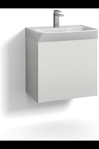 Svedberg Skapa 55x35 allaskaappi laatikosto valkoinen