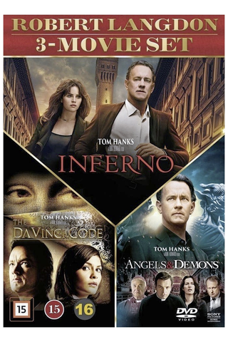 Dvd dan brown collection