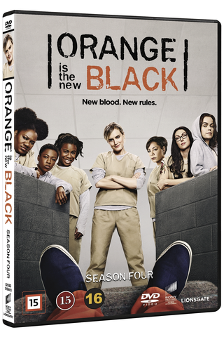 Dvd Orange Is The New Bl