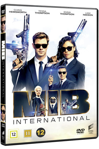 Dvd Men In Black Interna