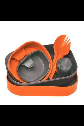 Wildo retkiruokailusetti Camp-a-Box Complete oranssi