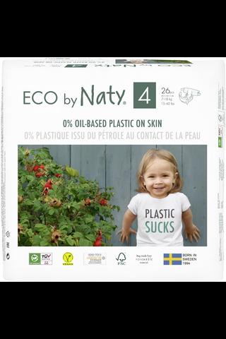 Eco By Naty Maxi 4 teippivaipat
