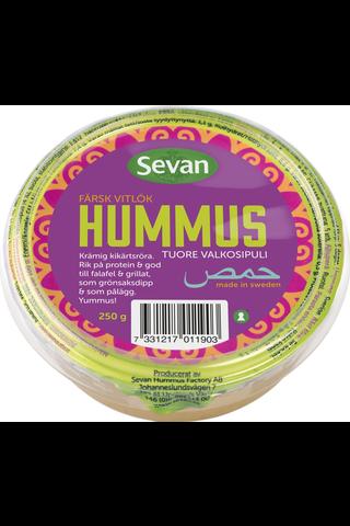 Sevan Hummus 250g Tuore Valkosipuli