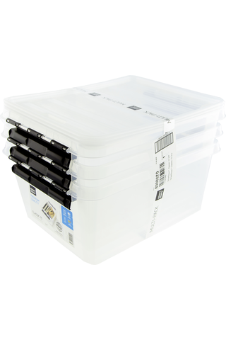 Orthex säilytyslaatikko SmartStore Classic 15l kirkas 3kpl
