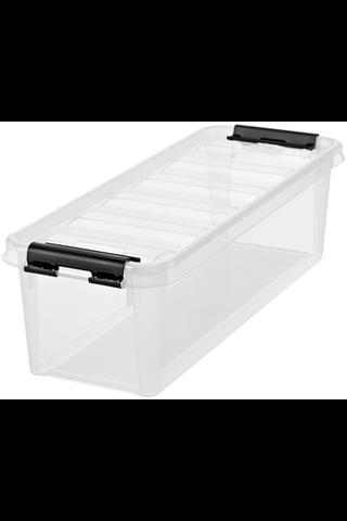 Orthex SmartStore Classic 4 säilytyslaatikko kannella kirkas