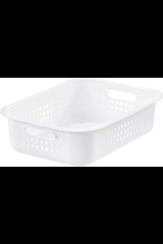 Orthex SmartStore Basket Recycled 10 säilytyskori valkoinen