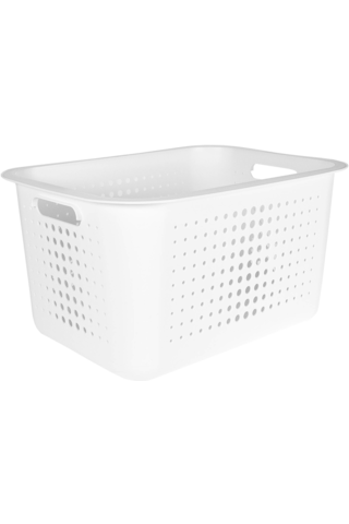 Orthex SmartStore Basket Recycled 20 säilytyskori valkoinen