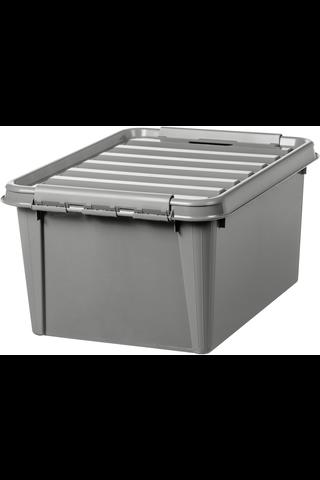 Orthex SmartStore Recycled 31 kannellinen säilytyslaatikko harmaa