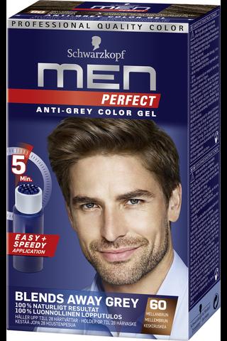 Schwarzkopf Men Perfect 60 Keskiruskea hiusväri