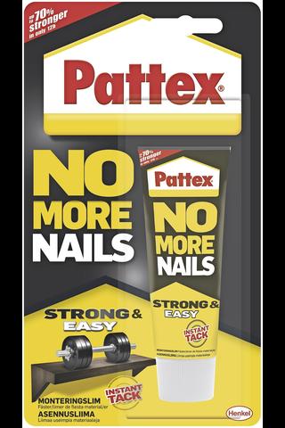 Pattex No More Nails asennusliima 40ml