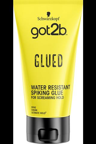 Schwarzkopf got2b 150ml Glued Water Resistant Spiking Glue hiusgeeli