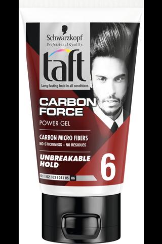 Schwarzkopf Taft 150ml Carbon Force hiusgeeli