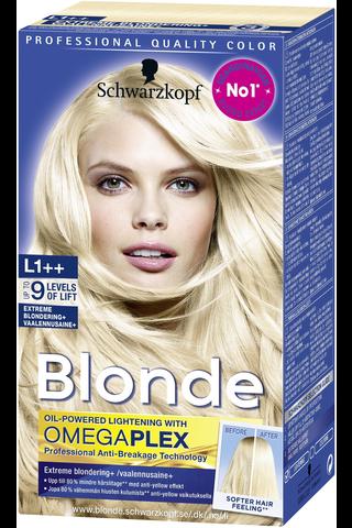 Schwarzkopf Blonde L1++ Extreme+ vaalennusaine