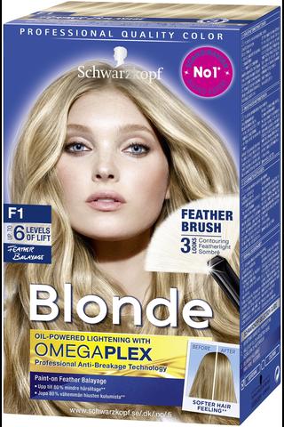Schwarzkopf Blonde F1 Feather Balayage raita-aine