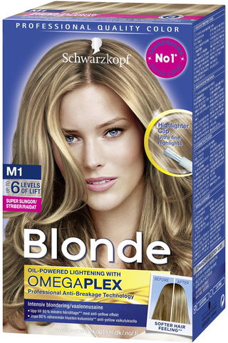 Schwarzkopf Blonde M1 Highlights Super raidat