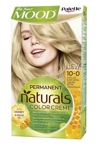 Palette Mood Naturals 10-0 Erittäin Kirkas Vaalea hiusväri