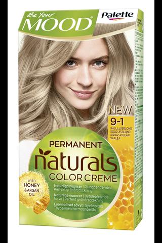 Palette Mood Naturals 9-1 hiusväri kirkas viileän vaalea