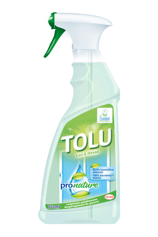 Tolu ProNature 750ml Lasi&Ikkuna puhdistusaine