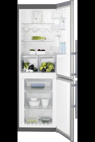 Electrolux EN3453MOX jääkaappipakastin teräs