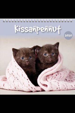 Seinäkalenteri 2020 Kissanpennut 160 x 320 mm Burde