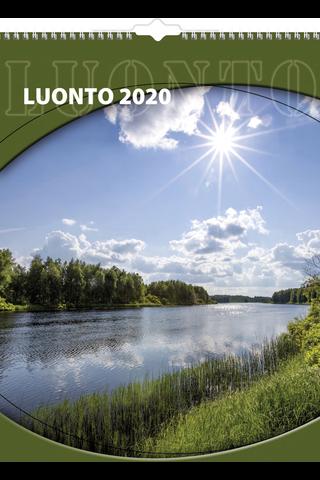 Seinäkalenteri 2020 Luonto 295X390 mm Burde