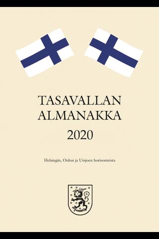 Taskukalenteri 2020 Tasavallan Almanakka A6 Burde