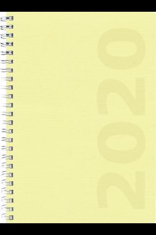 Pöytäkalenteri 2020 Business Ottawa keltainen Burde