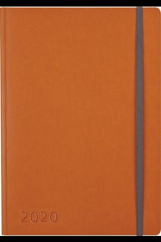 Pöytäkalenteri 2020 Business Forma oranssi Burde
