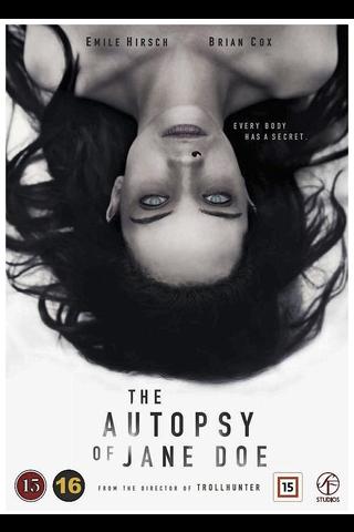 Dvd Autopsy Of Jane Doe