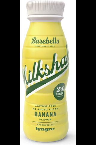Barebells 330ml Protein Milkshake Banana