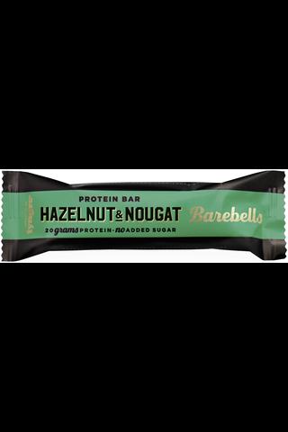 55g Barebells Hazelnut-Nougat proteiinipatukka