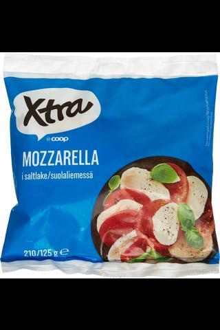 Xtra 210/125g mozzarella suolaliemessä