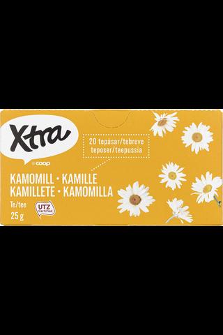 X-tra Kamomillatee 25 g, 20 ps