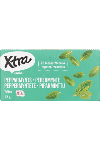 X-tra Piparminttutee 25 g, 20 ps