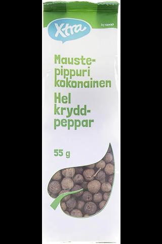 Maustepippuri kokonainen 55 g