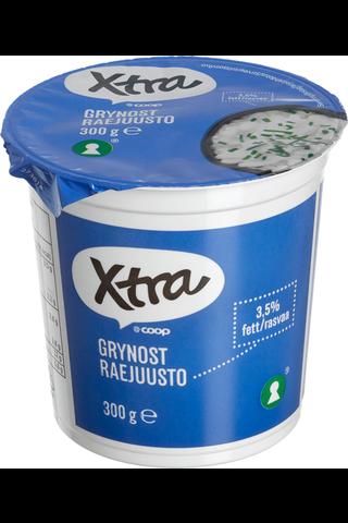 X-tra Raejuusto 3,5 %, 300 g