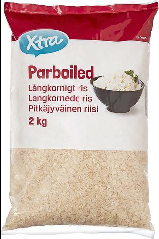 Pitkäjyväinen parboiled-riisi