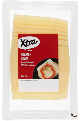 Xtra 150g Edam juustoviipaleet 23%